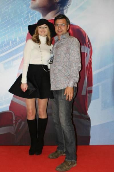Юрий Михалыч и Мария Кожевникова на премьере в Москве Легенда № 17